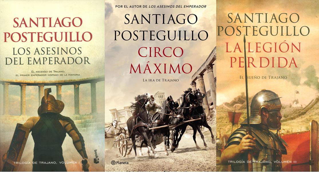 Estuche Trilogía de Trajano - Santiago Posteguillo - Booket