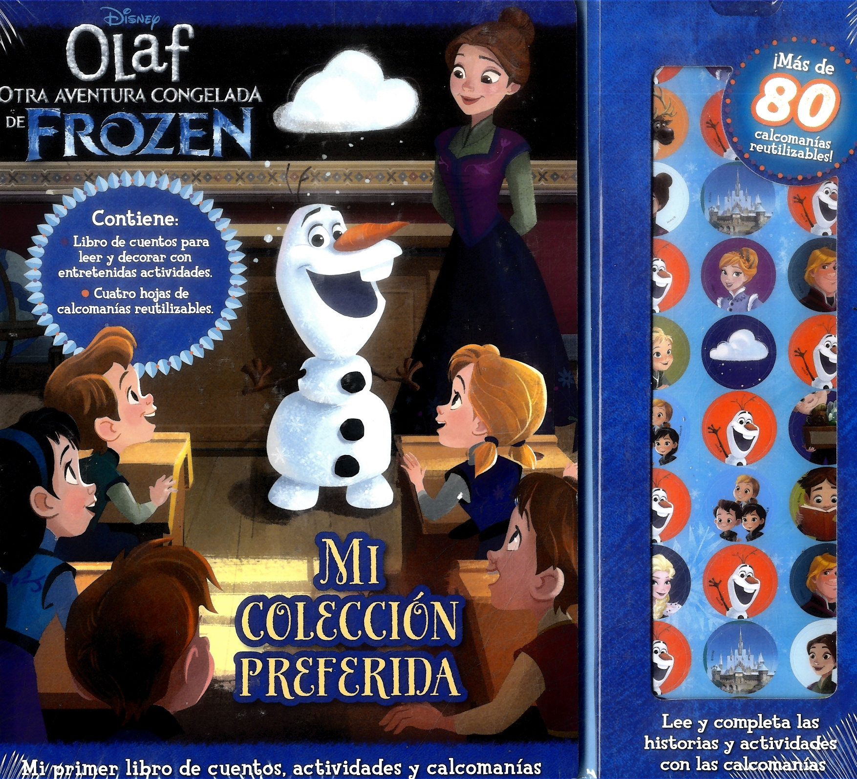 Story Sticker Olafs - Varios Autores - Plow Srl
