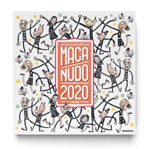 MACANUDO 2020, CALENDARIO DE PARED