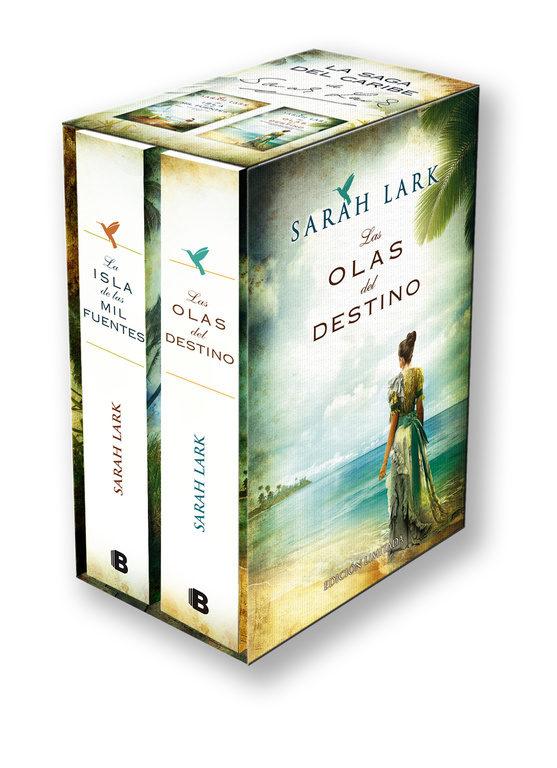 Bilogía Sarah Lark (Saga del Caribe): Estuche Con: La Isla de las mil Fuentes | las Olas del Destino (Grandes Novelas) - Sarah Lark - Bediciones