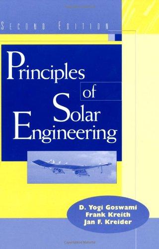portada Principles of Solar Engineering, Second Edition (libro en inglés)